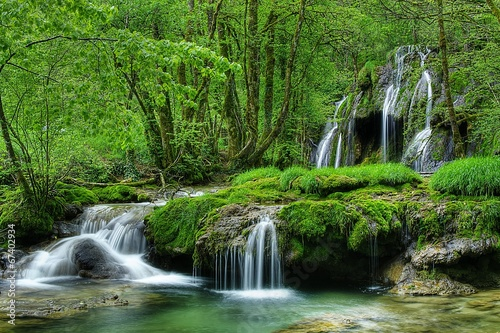 Foto op Canvas Watervallen Cascades