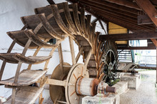 Water Wheels In Esslingen
