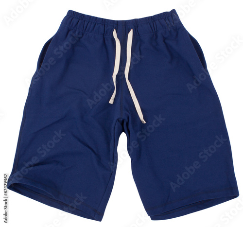 Fotografía  Sport shorts. Isolated on white background.
