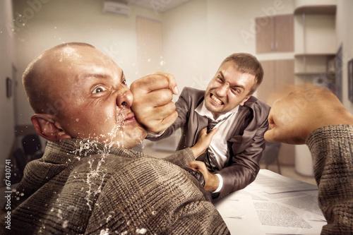 Fotografía  Business fight