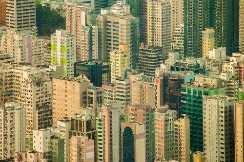 Photo  Resident Building in Hong Kong