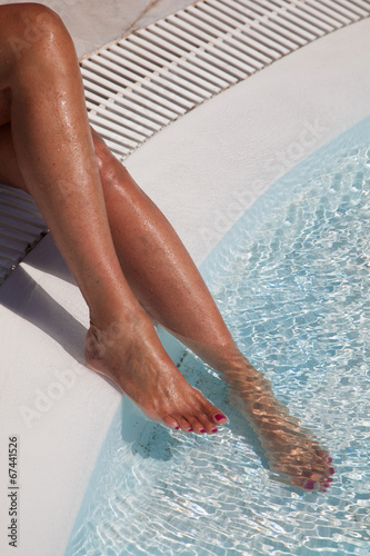 Fototapety, obrazy: Cura del corpo talassoterapia