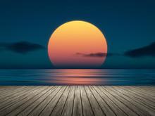 Big Sunset