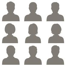 Vector Avatar, Profile Icon, H...