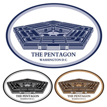 Pentagon. Detailed Illustratio...
