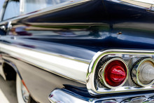 1961 Blue Chevrolet Impala Taillights