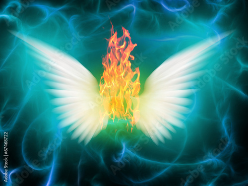Fototapety, obrazy: Angel of fire