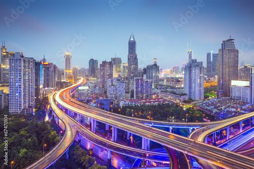 Foto op Aluminium Shanghai Shanghai Highways