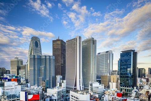 Foto auf AluDibond Tokio Shinjuku, Tokyo, Japan