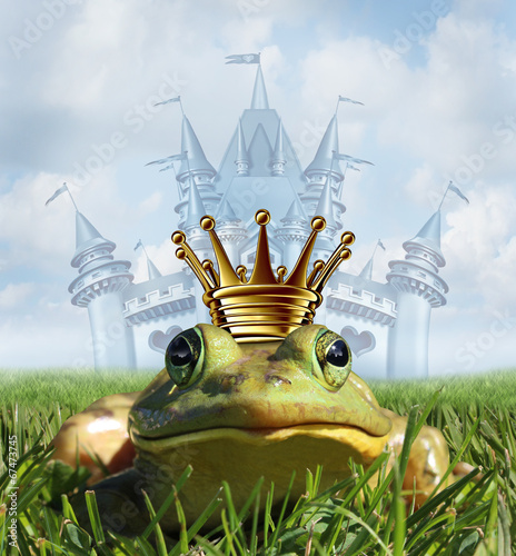 Fotografie, Obraz  Frog Prince Castle concept