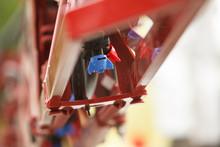 Tractor Sprayer Nozzle Close-up
