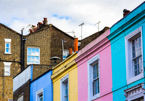 portobello road houses Poster