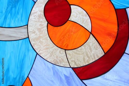 Fotografie, Obraz  stained-glass window