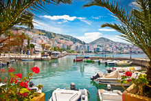 Saranda City Port  At Ionian S...