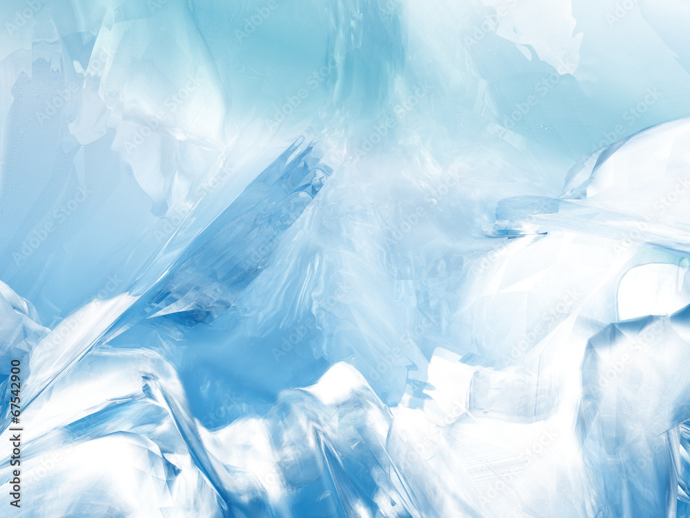 Fototapety, obrazy: Abstract glacier background