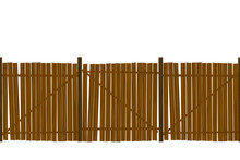 Wooden Fence Pattern