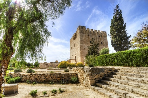Foto op Canvas Cyprus Medieval castle of Kolossi, Limassol, Cyprus