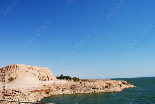 Photo  lake Nasser abu simbel 2