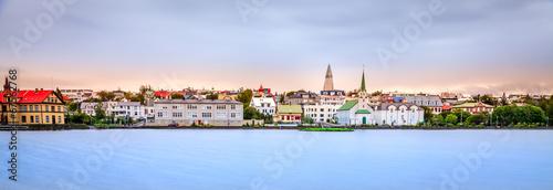 Fotografia, Obraz  Reykjavik skyline