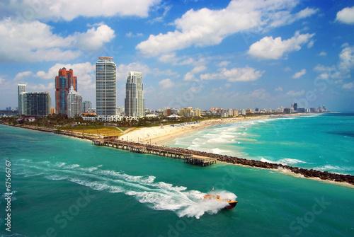 Photo  Aerial view of South Miami Beach