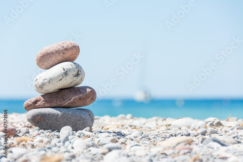 Foto op Canvas Strand Relaxing on the beach