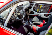 Inside The Race Car