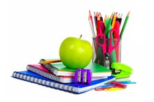 Collection Of Colorful School ...