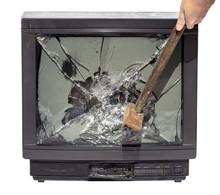 Hammer Smashes TV
