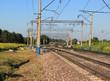 Железнодорожные пути с инфраструктурой