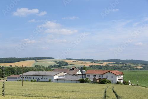 Foto  Bauernhof im Odenwald