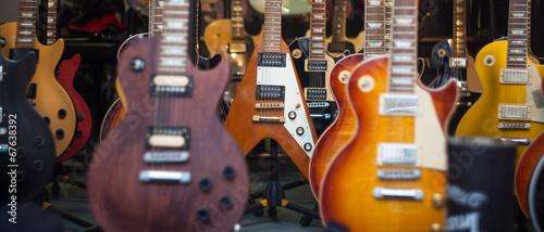 Fotografie, Obraz  Guitars