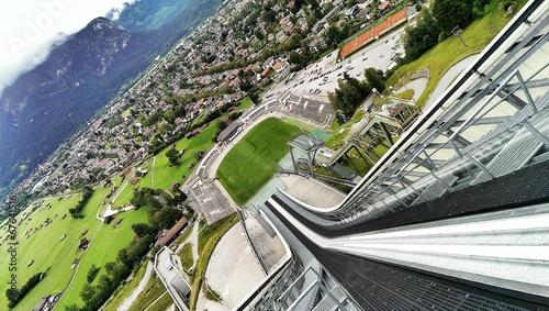 Ski Sprungschanze Garmisch