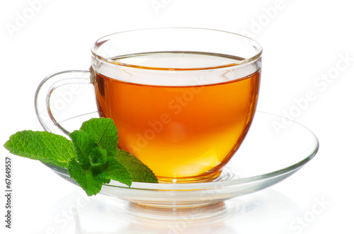 Papiers peints The tea in cup