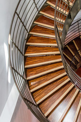 Panel Szklany Podświetlane Schody Escalier du Musée des gueules rouges
