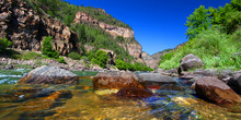 Colorado River Glenwood Canyon