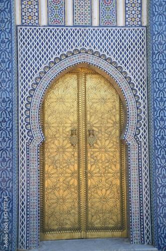 Tuinposter Marokko Zapraszam do środka...
