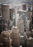 Vista dall'alto di Manhattan New York
