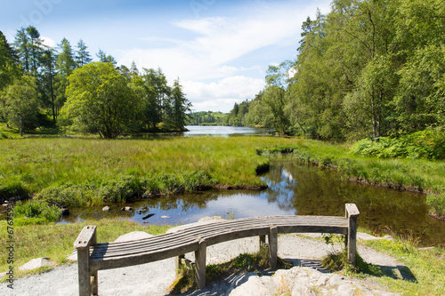 Keuken foto achterwand Tarn Hows near Hawkshead Lake District National Park England