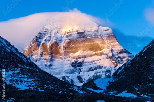 Tibet. Mount Kailash. North face Fototapeta