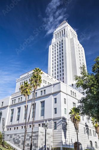 Staande foto Los Angeles LA City Hall
