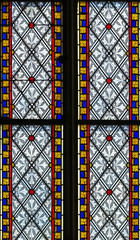 Panel Szklany Do kościoła stained-glass window