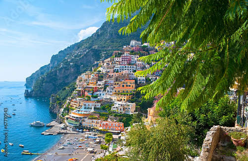 Photo Stands Ship The old Positano