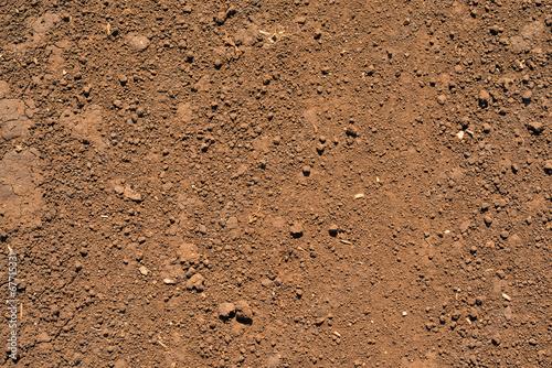 Fotografía Brown ground surface