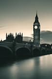 Fototapeta Big Ben - London at dusk