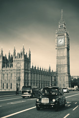 Taxi and Big Ben