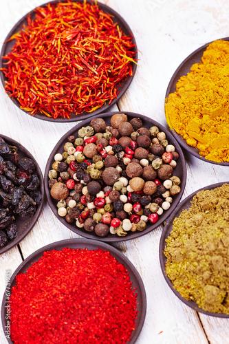 Poster Aromatische Spices