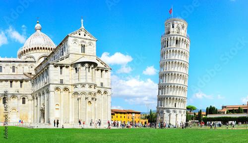 Obraz na plátně Leaning Pisa Tower