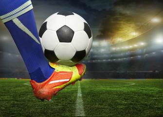 Fototapeta Piłka nożna stadium