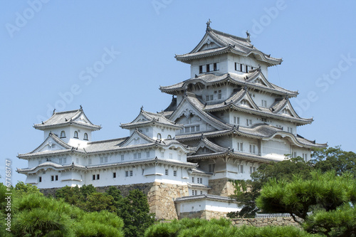 姫路城 Slika na platnu