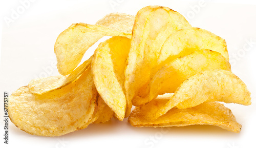 Fotografía  Potato chips.